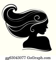 10861 female silhouette clip art free | Public domain vectors