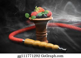 Smoke Hookah Stock Photos - GoGraph