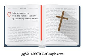 Drawings - Bible verses about friendship  Stock Illustration