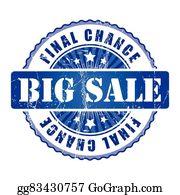 Big Sale Final Chance Stamp