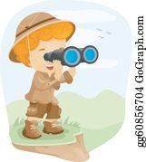 Binoculars Clip Art Royalty Free Gograph