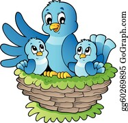 Antique Images: Oriole Bird Nest Eggs Clip Art Printable Artwork Image  Download