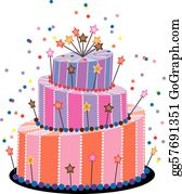 Phenomenal Birthday Cake Clip Art Royalty Free Gograph Funny Birthday Cards Online Overcheapnameinfo