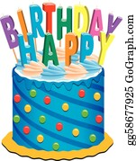 Fabulous Birthday Cake Clip Art Royalty Free Gograph Personalised Birthday Cards Cominlily Jamesorg