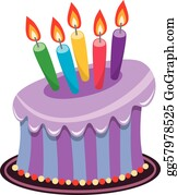 Wondrous Birthday Cake Clip Art Royalty Free Gograph Funny Birthday Cards Online Fluifree Goldxyz