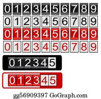 Odometer Clip Art - Royalty Free - GoGraph