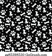 clipart green and white dog paw prints tile pattern repeat Royal Blue and White Chevron Background black and white doggy tile pattern repeat background