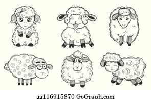 Mouton Clip Art Royalty Free Gograph