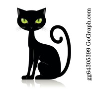 Black Cat Clip Art Royalty Free Gograph