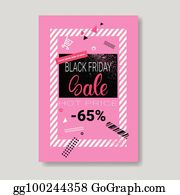 769a334f72 Black Friday Sale Banner With Copy Space Pink Template Poster Grunge Design  Shopping Discount Concept
