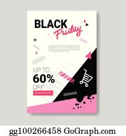 ef388178b6 ... Black Friday Sale Banner With Copy Space Pink Template Poster Grunge Design  Shopping Discount Concept