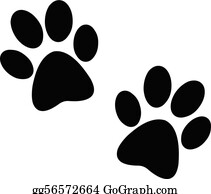 Dog Paw Clip Art Royalty Free Gograph
