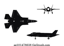F35 Clip Art - Royalty Free - GoGraph B2 Cockpit Panorama