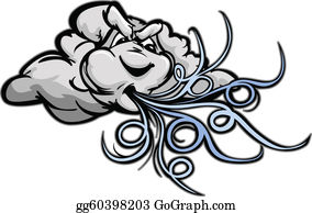 Wind blowing clipart - WikiClipArt