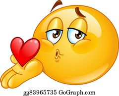 Hand Kiss Clip Art Royalty Free Gograph