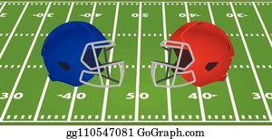 Red American Football Helmet Clip Art Royalty Free Gograph
