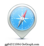 Map Location Icon Stock Illustrations - Royalty Free - GoGraph