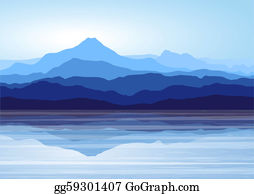 Nature Scene Of Lake And Park Royalty Free Cliparts, Vectors, And Stock  Illustration. Image 42920438.