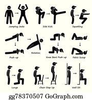 Workout Clip Art Royalty Free Gograph