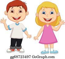 Picture boy. Clip art royalty free