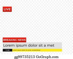 Breaking News Meme Background