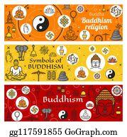 Tibetan Buddhism Clip Art - Royalty Free - GoGraph