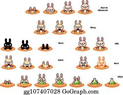 Game Sprites Clip Art - Royalty Free - GoGraph