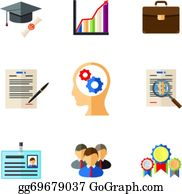 Resume And Cv Icon Clip Art Royalty Free Gograph