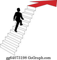 Stairs Clip Art - Royalty Free - GoGraph