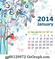 January Clip Art - Images, Illustrations, Photos