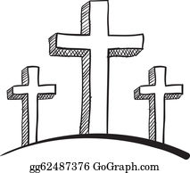 Three Crosses Clip Art Royalty Free Gograph