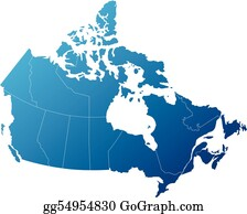 Free Map Of Canada.Canada Map Clip Art Royalty Free Gograph