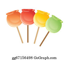 Candy apple Caramel apple Taffy Flavor, candy transparent background PNG  clipart | HiClipart
