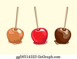 Caramel Apples Clip Art, Candy Apples Clipart, Halloween Candy Clip Art -  Commercial Use, Instant Download | Apple clip art, Caramel apples,  Halloween candy