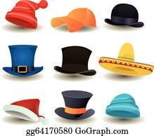 2c017c0e880e3 Derby Hat Clip Art - Royalty Free - GoGraph
