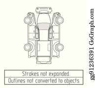 Car Pickup Truck Drawing Outlines Not Converted To Objects