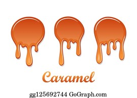 Royalty Free Toffee Sauce Clip Art Gograph
