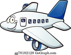 Cartoon Airplane Clip Art Royalty Free Gograph
