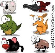 Cartoon Animals Clip Art Royalty Free Gograph