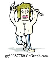 Straight Jacket Clip Art Royalty Free Gograph