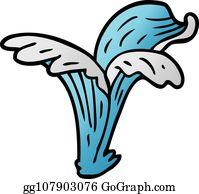 Royalty Free Water Splash Vectors - GoGraph