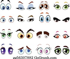 Eyes Clip Art Royalty Free Gograph