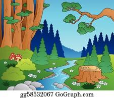 Stream Clip Art Royalty Free Gograph
