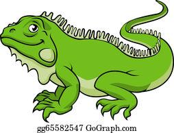 Iguana Clip Art - Royalty Free - GoGraph