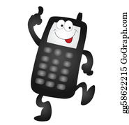 Mobile Phone Clip Art Royalty Free Gograph