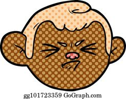 The Best Monkey Face Cartoon Vector Images