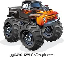 Monster Truck Clip Art Royalty Free Gograph