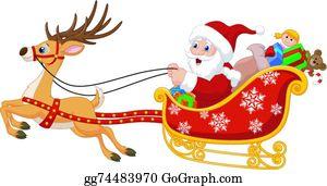 Free Santa Sleigh Clipart, Download Free Clip Art, Free Clip Art on Clipart  Library