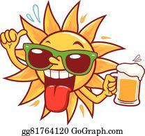Vector Stock - Mexican man holding a beer and taco. Stock Clip Art gg76231108 - GoGraph