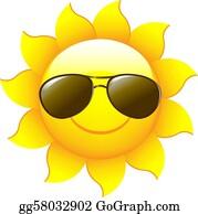 1f0b45bb15 Sun Characters Clip Art - Royalty Free - GoGraph